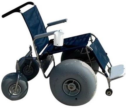 Beach De-Bug Stainless Steel All Terrain Wheelchair