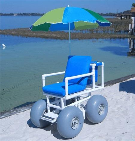 Healthline Medical All Terrain Beach Wheelchair