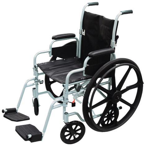 Drive Poly-Fly Lightweight Transport Chair Wheelchair